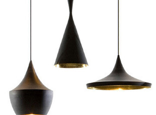 英国Tom Dixon Beat Light Series Suspension Lamp 黑泽 吊灯,灯具,