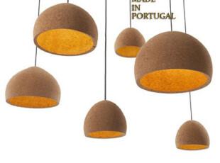 现货 葡萄牙进口天然环保吊灯/软木吊灯/客厅灯/吊灯/个性灯具,灯具,