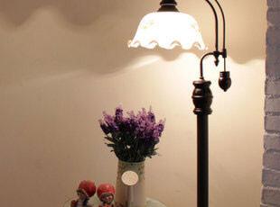 []英伦老上海风格 灯具 客厅卧室 实木 可调光落地灯018,灯具,