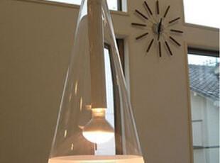 美琪灯饰 现代简约经典餐吊灯意大利三角锥风铃吊灯时尚餐厅灯,灯具,