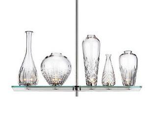 意大利Flos Cicatrices De Luxe 5瓶 手工切割叶纹 水晶瓶 吊灯,灯具,