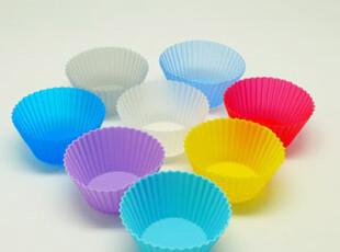 耐高温硅胶蛋糕模 硅胶马芬杯 玛芬杯 12个,烘焙,