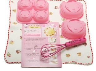【韩国烘焙工具】小号KITTY凯蒂大脸布丁蛋糕模具一套 正品防伪,烘焙,