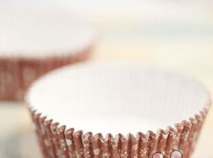 『台湾坚美士』耐高温蛋糕面包油纸托(咖啡雪花图案),烘焙,