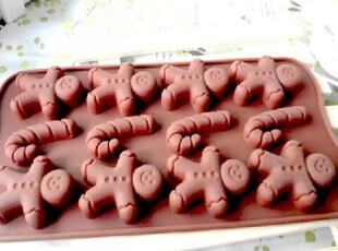 烘培甜品DIY工具 12连J-娃娃矽胶蛋糕模 硅胶巧克力模具 创意冰格,烘焙,