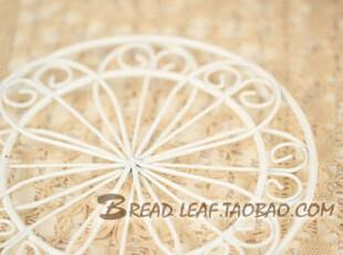 白色花朵小晒网晒架 (小号)烘焙面包蛋糕饼干用,烘焙,