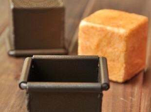 泡芙模具 5cm正方形泡芙模小蛋糕模 特氟龙不沾 1只 甜品(含盖,烘焙,