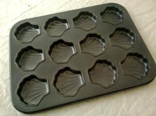 12杯 铁制蛋糕模(不粘)/蛋挞模/12孔蛋糕模/烘焙模具/布丁模,烘焙,