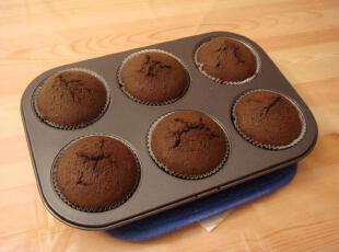 三文虫烘焙批零 特价~6连圆形蛋糕模六连圆形蛋糕烤盘,烘焙,