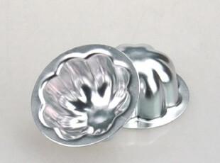 乾能小蛋糕模 QN6215 小花蛋糕模(阳极) 铝合金材料,烘焙,