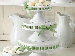 缺货~!出口尾单 陶瓷镂空 高脚蛋糕盘 点心盘 西餐盘 陶瓷果盘,烘焙,