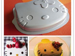 喜多烘焙kitty蛋糕用具猫头形状蛋糕模蛋糕模具 烤箱模具,烘焙,