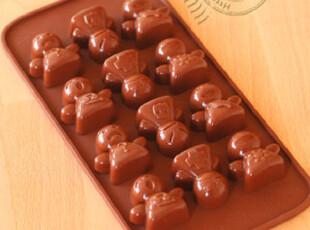 【皮皮虾烘焙杂货铺】硅胶巧克力模具布丁模冰格 可爱天使,烘焙,
