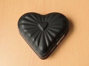 cakeland BLACK系列 12CM 心型 磅蛋糕模 (6218),烘焙,