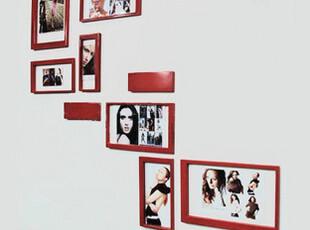 麦秋/MaiQiu  时尚DIY照片墙组合/相片墙/创意设计 方形墙贴,照片墙,