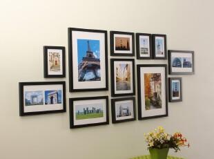 B1-1木制相框墙/相框组合/相片墙照片墙/现代简约特价包邮,照片墙,