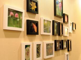 全悦 实木照片墙 百变造型 实木相框墙 创意组合相片墙 18SM1431,照片墙,