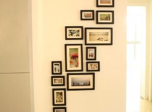包邮13框创意组合照片墙 纯实木竖版相片墙 像框墙 相框墙 1013款,照片墙,
