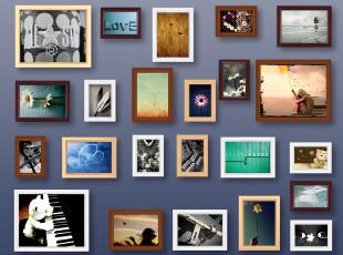 可以冲洗照片23框韩式个性实木纯欧式照片墙相框墙相框组合相片墙,照片墙,
