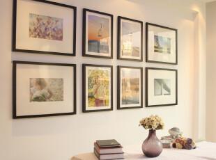 【客厅大气照片墙 相框墙】16和20寸大尺寸组合 实木相片墙 0208,照片墙,