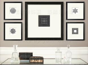 [赫斯提家] 禅意装饰画墙 大型照片墙相片墙画框组合 美克美家,照片墙,