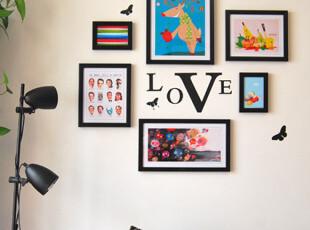 二代照片墙/GZ002/墙贴/相框墙/墙饰/创意家饰/6框/新款,照片墙,