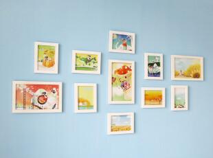 [2012梦想商品清单] 11框创意组合照片墙 相框墙 适合客厅相片墙,照片墙,