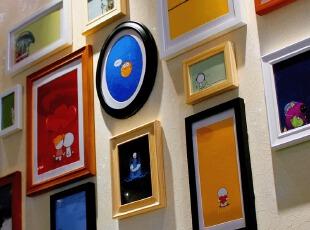 金零点旗舰店PU14高端实木相框新款创意照片墙/相框墙/相框组合,照片墙,