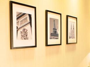 梓晨品牌 3框组合实木照片墙/相框墙/相片墙/组合相框  HD-003,照片墙,