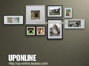 UP系列北欧实木加厚相框 宜家相框 创意 相框 组合墙,照片墙,