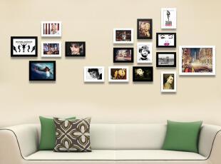 梓晨 实木照片墙 适合卧室的相片墙 相框墙 创意组合 HD-1214,照片墙,