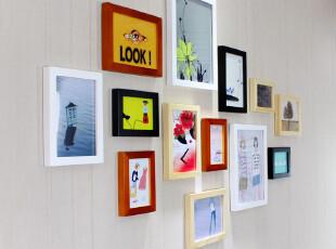 梓晨 实木照片墙 适合小墙面相片墙 相框墙 创意组合 HD-562,照片墙,