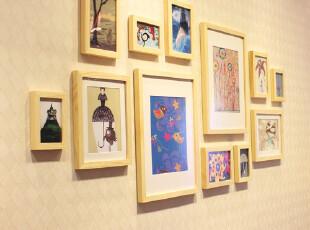 梓晨 实木照片墙 相片墙 相框墙 家居适用 大尺寸 HD-4422,照片墙,