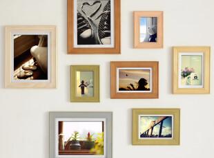鸟与树实木照片墙8Q-080001爱的时光,照片墙,