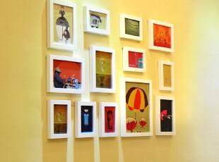 梓晨 适合小墙面的实木照片墙 相片墙 相框墙 创意组合 HD-751,照片墙,