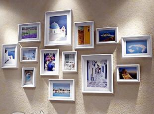 地中海风格相框 组合 墙创意照片墙相片墙 相框墙,照片墙,