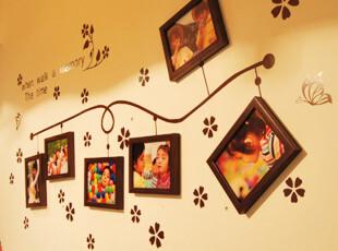 枫印象GZ001照片墙墙贴相框墙墙饰新款创意家饰送蓝胶包邮,照片墙,