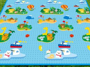蔓葆2*1.8米婴儿游戏垫/宝宝爬行垫/地垫(快乐小岛),玩偶,
