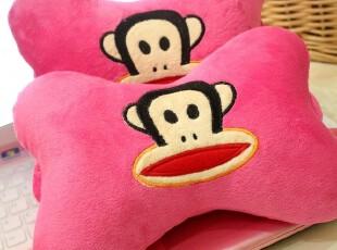 米西公主 可爱猴子 车枕 骨头枕 车用小颈枕 汽车头枕 卡通车饰,玩偶,
