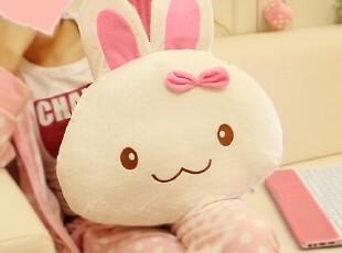 米西公主 天使兔momo兔子 毛绒玩具 家居毛绒抱枕靠垫 生日礼物,玩偶,