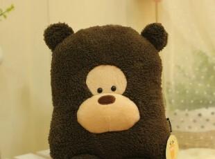 米西公主 热卖HR广告款毛绒大脸猴方猴抱枕/靠垫/午休枕,玩偶,
