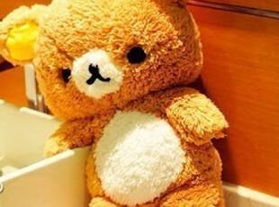 七夕情人节-日本正版轻松熊公仔 大抱枕 RIRAKKUMA 松驰熊进口料,玩偶,