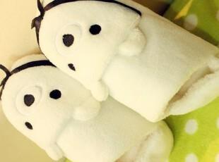 米西公主 熊猫包跟 可爱粉猪  家居地板拖鞋 包跟保暖拖鞋 萌物,玩偶,