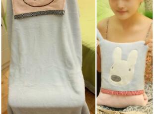 米西公主 正版太子兔砂糖兔方形抱枕 优质,玩偶,