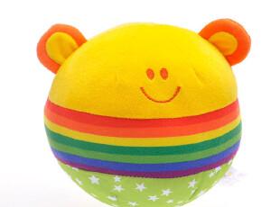 伊诗比蒂 小亲的彩虹摇铃球 多功能益智球系列 BT-2211,玩偶,