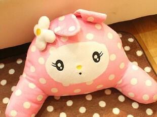 米西公主 波点粉色 美乐蒂兔子毛绒玩具 抱枕坐垫 靠垫 美臀垫,玩偶,