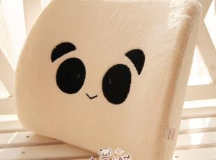 可爱小熊猫TATAKitty 零压海绵 腰枕靠垫抱枕护腰垫汽车腰垫,玩偶,