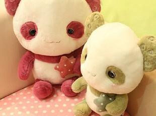 米西公主 可爱卡通 毛绒玩具 布娃娃 熊猫 抱枕 靠垫 公仔 礼品,玩偶,