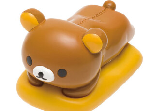 现货 日本正版Rilakkuma轻松小熊 趴趴全身 眼镜架 《250-5590》,玩偶,