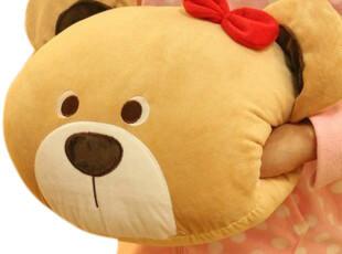 米西公主 小熊暖手抱枕 抱枕+暖手一体 2用款  爆款 实用型,玩偶,